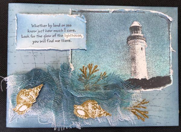 greeting card lighthouse
