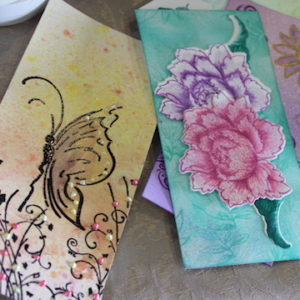 scrapbooking expo stamping