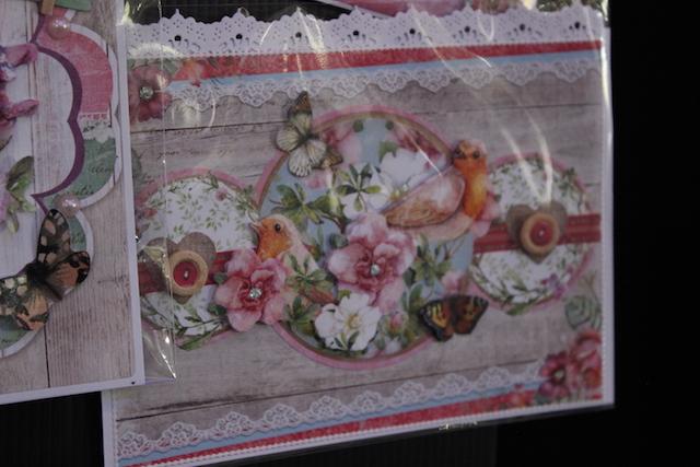 Papercrafts show craft supplies