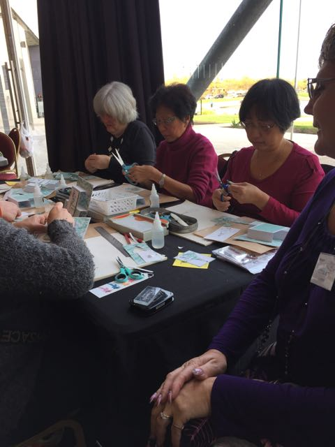 cardmaking classes with Little Bits